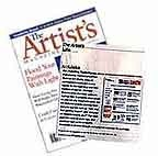 artist magazine website of the month