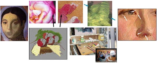 oil painting lesson pictures