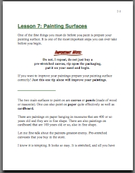 oil painting supplies manual pic 4